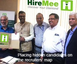 >Placing hidden candidates on the recruiters' map